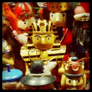 Ammon the Nutcracker doll from Egypt (Misir - formerly part of the Ottoman Empire)