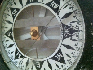 old ship compass north south east west compass rose