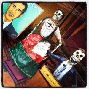 Dia de los Muertos 2012 election presidential obama ted kennedy