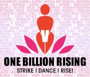 One billion rising on V-day! (Image from UNLV.EDU)