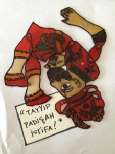 karagoz tayyip erdogan occupy gezi liz cameron